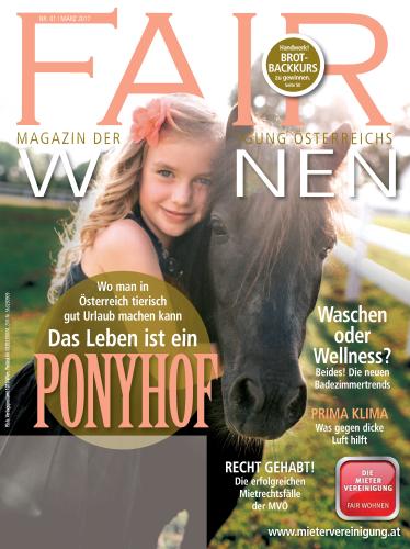 Wohnen Zeitschrift österreich magazin fair wohnen