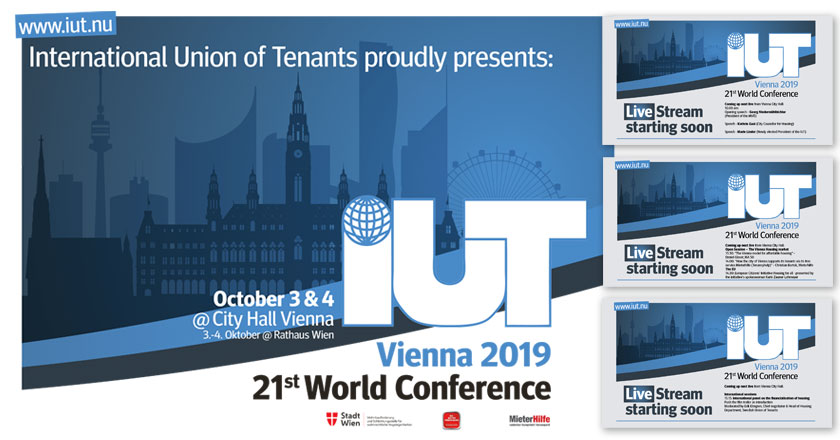 IUT World Conference 2019 Vienna